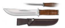 Leather Requiem Knife